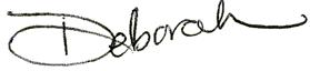 Deborah's Signature